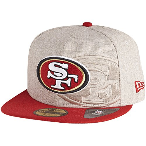 New Era 59Fifty Screening San Francisco 49ers - Gorra (talla 7 3/8)