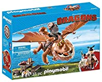 Playmobil Fishlegs + Meatlug Playset、マルチカラー