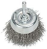 Bosch Professional Topfbürste, Edelstahl, gewellter Draht, 0,3 mm, 60 mm, 4500 U/min, 2608622118