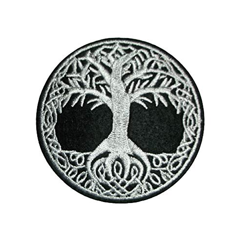 Aurora4289 3' Tree of Life Iron ON Patch Wicca Wiccan Pagan Nature Spiritual Celtic Knot