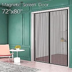 Image of Magnetic Screen Door for...: Bestviewsreviews