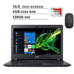 【Upgraded】 Seal is opened for upgrade ONLY, 2-years warraty on Upgraded RAM/SSD from NexiPC, and original 1-Year Manufacture warranty on remaining components. Upgraded from Base Model with Specs 4GB RAM + 128GB SSD. 14 inch HD (1366 x 768) Widescreen...