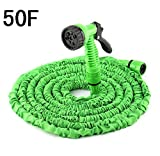 25 ft Garden Hose Expandable Magic Flexible Water Hose Green Hose Plastic Hoses Pipe