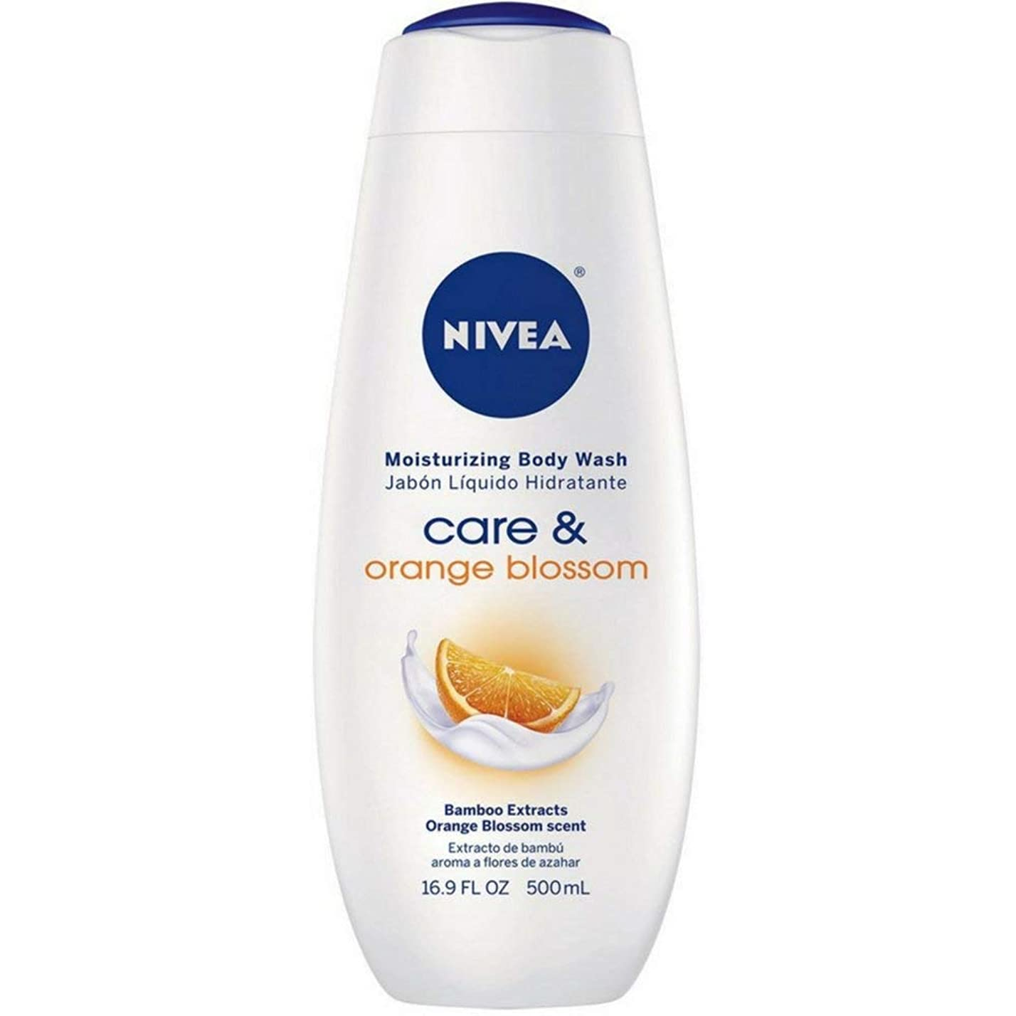 トチの実の木ためにくちばしNivea, Touch of Happiness, Moisturizing Body Wash, 16.9 fl oz (500 ml)