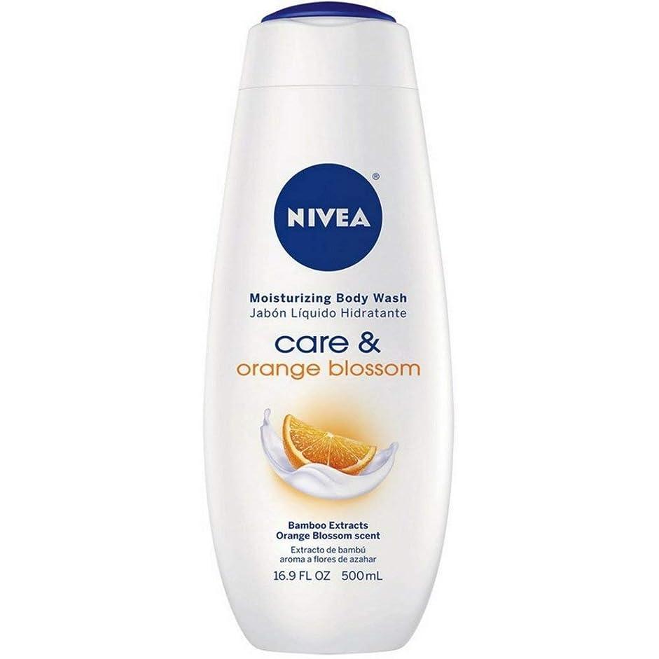 大佐入植者軽食Nivea, Touch of Happiness, Moisturizing Body Wash, 16.9 fl oz (500 ml)