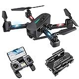 Drone con Telecamera, Drone GPS con Funzione di Calibrazione Automatica, 4K HD 5G FPV, Quadricottero...
