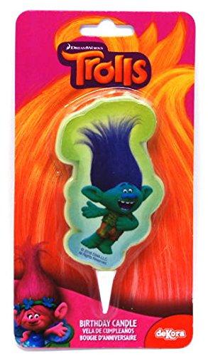 Dekora 346137 - Vela Trolls 2D, multicolor