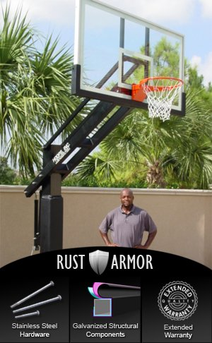 Pro Dunk Diamond with Rust Armor Package: Ultimate Adjustable...