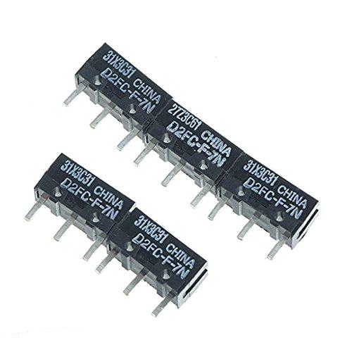 5pcs Mikroschalter OMRON D2FC-F-7N für Maus