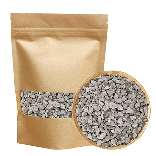 Horticultural Bonsai Pumice Succulent and Cactus Plants Garden Turface Pumice Gravel Rocks Tree Soil Additive Faster Draining Blend, Optimal Drainage, Improves Soil Aeration and Promotes Root 2.2-lbs