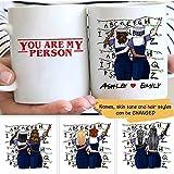 DKISEE Taza de cerámica personalizada de Stranger Things Best Friends, taza de viaje personalizada, regalo de oficina para...