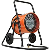 Portable Salamander Heater with 8'L Cord, 240V, 10KW