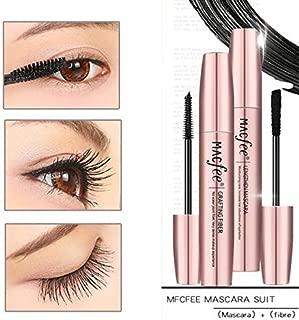 4D Mascara Cream Makeup Lash Cold Waterproof Mascara Eye Black Eyelash Extension Crazy- long Style Warm Water Washable Mascara