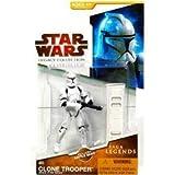Star Wars 2009 Saga Legends Action Figure SL No. 4 Episode II Clone Trooper by Hasbro