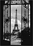 1art1 Eiffelturm - Der Eiffelturm, Tor Poster Kunstdruck 70