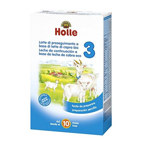 Holle Leche de Continuación de Cabra 3 (+10 meses) - 400 gr