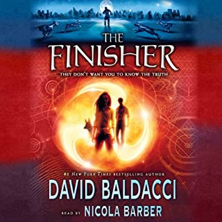 The Finisher audiobook cover art