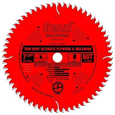 Freud LU79R006M20 Perma-Shield Coated Thin Kerf Plywood and Melamine Saw Blade for Festool Saws, 20mm Arbor 160mm by 48-Teeth Hi-ATB