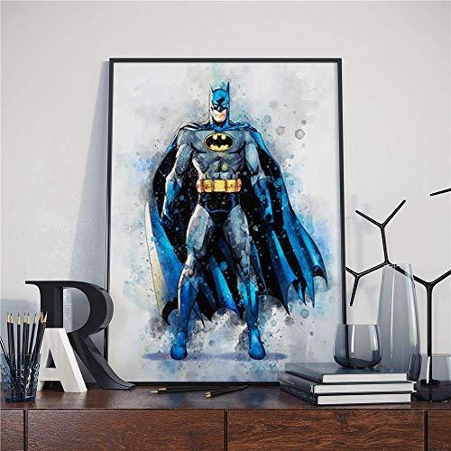 Puzzle 1000 piezas Bat héroe película arte tela de seda de la imagen del héroe del amanecer puzzle 1000 piezas animales educativo divertido juego familiar para niños adultos50x75cm(20x30inch)
