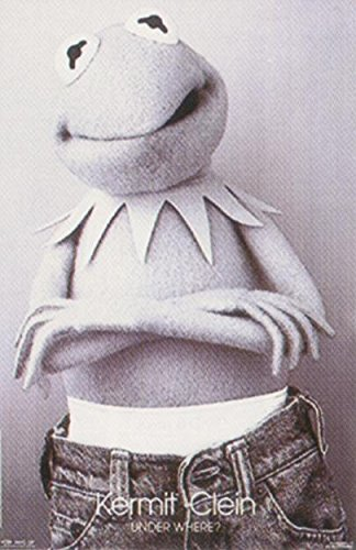 Close Up Muppets Poster (53cm x 81cm) + weiße Geschenkverpackung. Verschenkfertig!