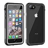 Deekoy iPhone 7/8 Waterproof Case, Built-in Screen Protector Full Sealed Cover, Shockproof Dirtproof Snowproof IP68 Waterproof Clear Case for iPhone 7/iPhone 8 (4.7 inch)