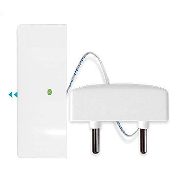 Sensor de agua inalámbrico 433MHz de JC , uso fácil interior del senor de la fuga de inundación