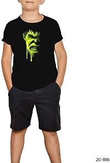 THEZEPPLIN-Hulk Painting Siyah Çocuk Tişört