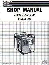 Best honda em3000c generator manual Reviews