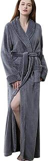 マイクロファイバー 着る毛布 ルームウェア 静電 防止 洗える フード ポケット付き ふわふわ保温 軽量 うっとりなめらかパフ ガウンタイプ ファスナー 妊婦 男女兼用 (XL, グレー)