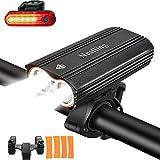 Luci per Bicicletta,Luci Bicicletta LED Ricaricabili USB con 2400 lumens 4 modalità,Luce Bici...