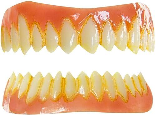 Ahorre 60% de descuento y envío rápido a todo el mundo. Horror-Shop carillas dentales dientes dientes dientes monstruo FX  despacho de tienda