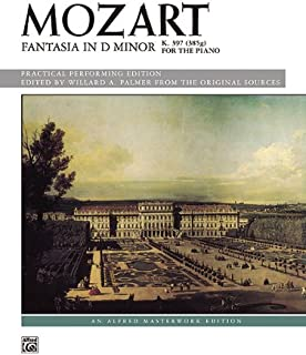 Mozart - Fantasia in D minor, K. 397 - Piano - Early Advanced