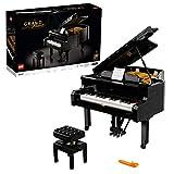 LEGO 21323 Ideas Piano de Cola Set de Construcción con Motor y 25 Teclas, Modelo de Coleccionista, Regalo para adultos