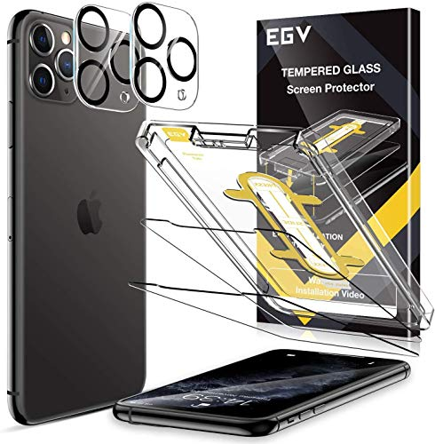 EGV 6 Pack Screen Protector + Camera Lens Protector for Samsung Galaxy S20 Plus, [In-Display Fingerprint Support][Case Friendly] [Bubble Free] HD Clear Flexible TPU Film