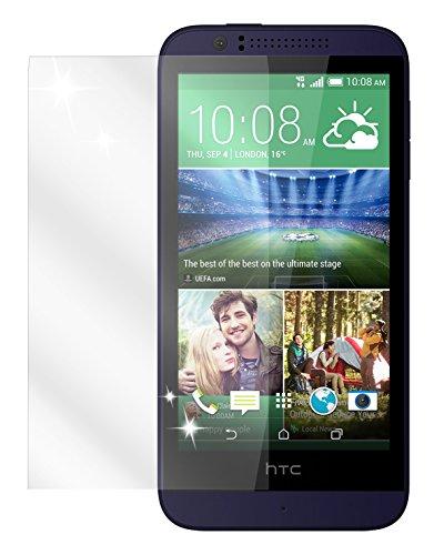 dipos I 2X Schutzfolie klar kompatibel mit HTC Desire 510 Folie Bildschirmschutzfolie