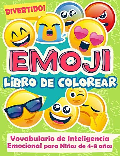 Divertido! Emoji Libro de Colorear Vocabulario de Inteligencia Emocional para Niños de 4-8 años: 1 (Psicología aplicada a la enseñanza)