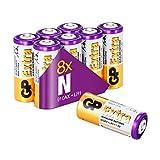 GP Extra Alkaline LR1 Batterien (Typ 910A, Lady, N, E90) Spannung 1,5 Volt, 1,5V (Pack mit 8 Stück)