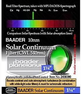 Baader Planetarium Solar Continuum Filter, 1.25