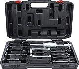 Kraftmann 7715 | Juego de extractores de rodamientos internos ciegos | 16 piezas