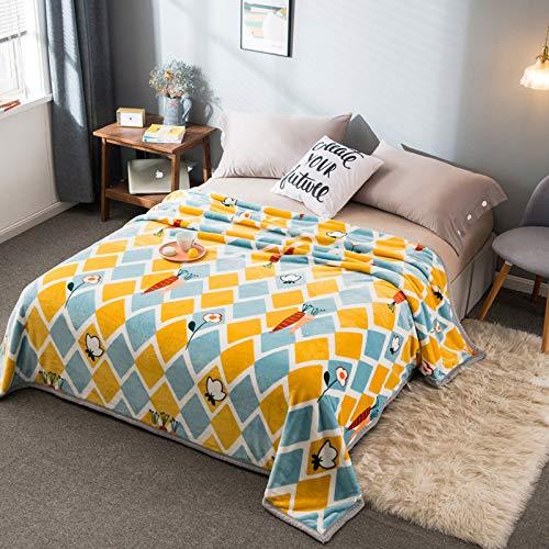 KHDJ Throws Blankets Fleece Superweiche Flauschige Bettdecken Throws Warm Blanket Für Sofa Christmas Throws Blanket Bedspread,A,180 * 200CM