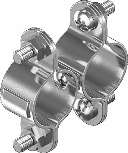 ARBO-INOX® - Rohrschelle - Doppelschelle - feststehend - Edelstahl A2-25mm
