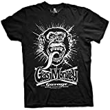Gas Monkey Garage Camiseta con Licencia Oficial, Estampado de explosión - L