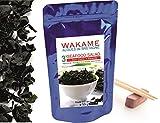 Alghe Essiccate Wakame 50 g  Fiocchi Grandi di Wakame Istantenei 3' Alghe Marine di Bretagna -...