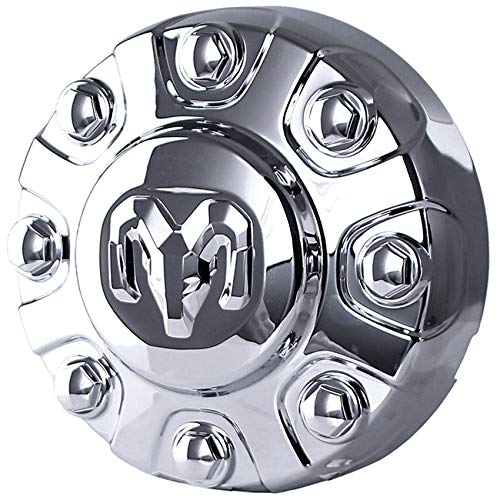 New OEM Chrome Ram 8Lug Center Wheel Cap Compatible With Ram 2500 Power Wagon Crew Cab Pickup 4-Door 6.4L 6424Cc 392Cu. In. V8 Gas Ohv Naturally Aspirated 2019-2020 by Part Number 6PG02SZ0AB