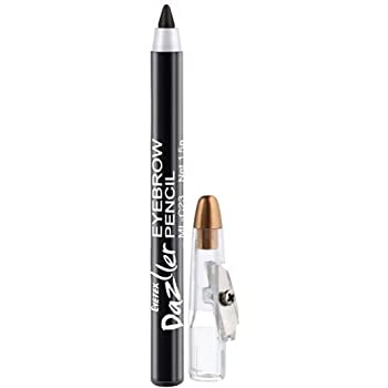 Eyetex Dazller Black Eyebrow Pencil, 1.5g