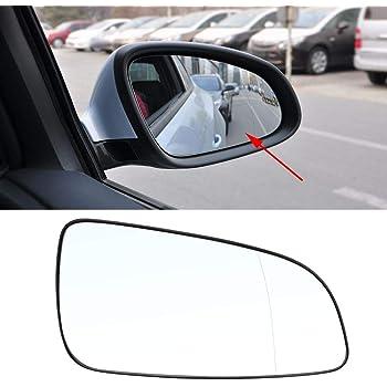 KKmoon Vetro Specchio Retrovisore Auto Esterno Vetro Specchio Retrovisore 6428786 13141985 Ricambio per Opel Astra H 2004-2008 Destra
