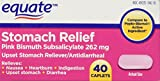 Equate Stomach Relief Caplets 40ct