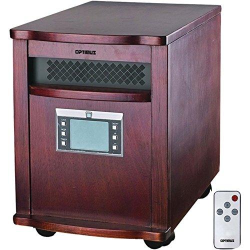 OPTIMUS H-8010 IR Quartz Heater with Remote Home & Garden Improvement