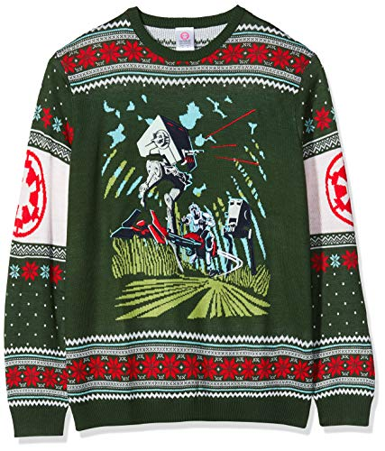 Star Wars Maglione di Natale Battle of Endor Unisex - 4XL