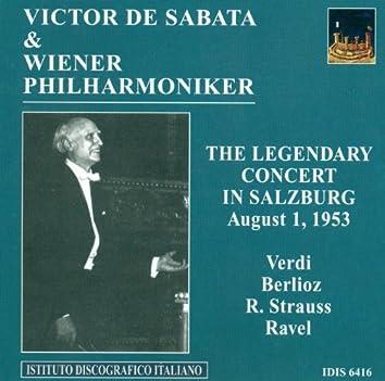 Verdi, G.: Overture To I Vespri Siciliani / Berlioz, H.: Le Carnaval Romain / Strauss, R.: Tod Und Verklarung (Vienna Philharmonic, De Sabata) (1953)